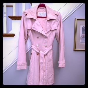 Beautiful Jessica Simpson Blush Trench Coat 💕